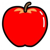 りんごの乾燥例