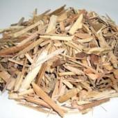 木材チップの粉砕例